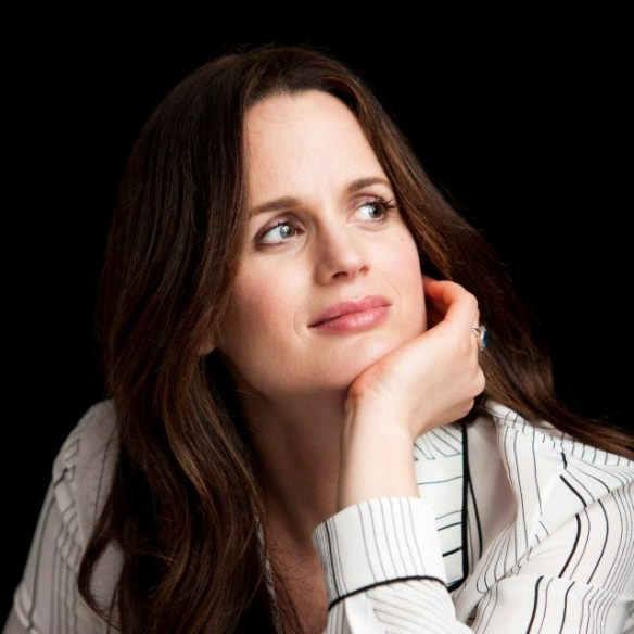 Elizabeth Reaser promoting' The Twilight Saga: Breaking Dawn - Part 2'